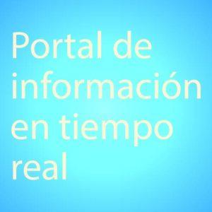 Portal de información en tiempo real