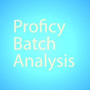 Proficy Batch Analysis