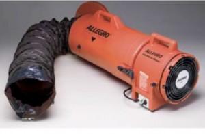 ventiladores axiales ducto incorporado