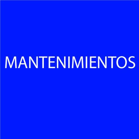 MANTENIMIENTOS